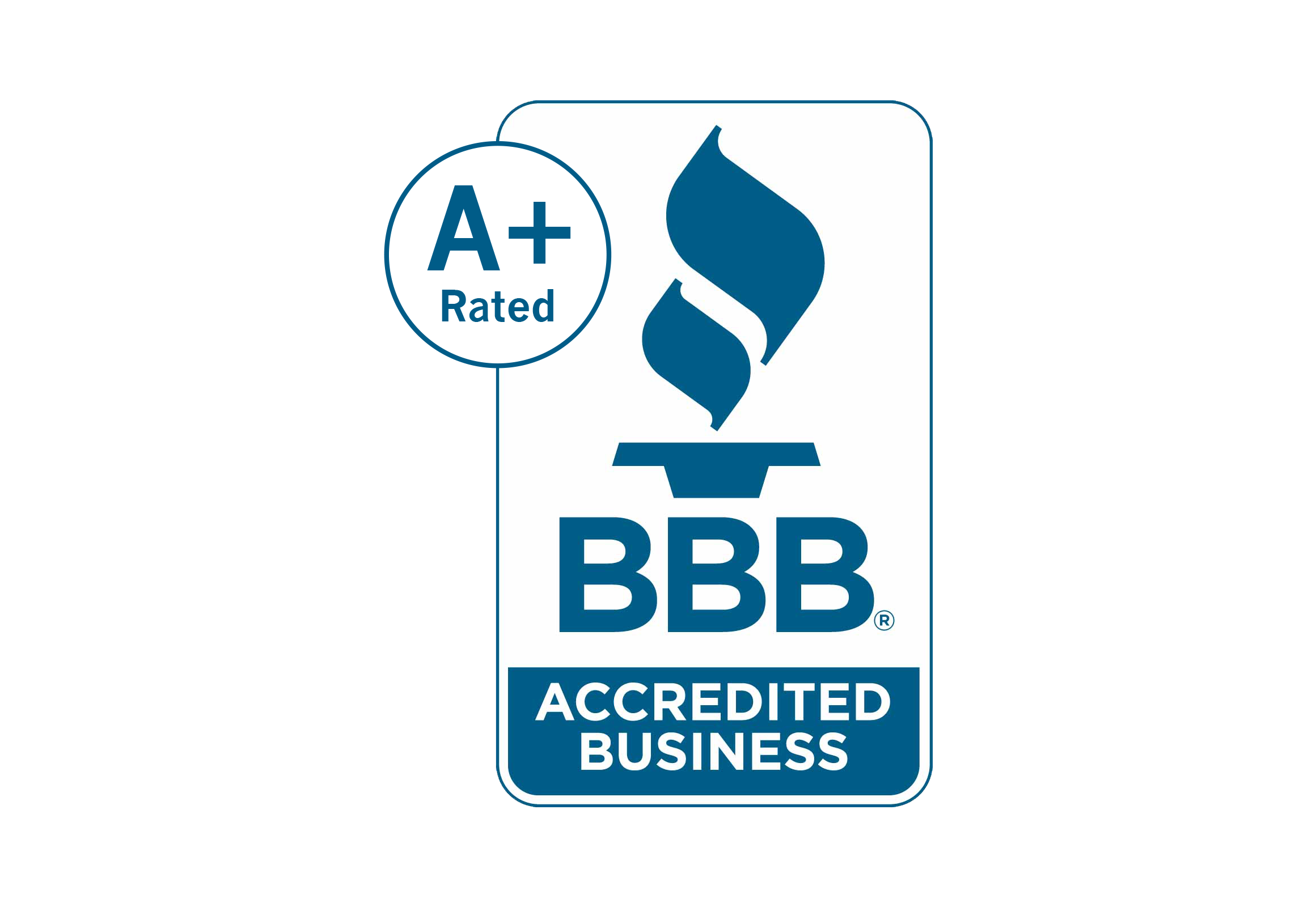 A+ Rating - Accredited Business of the BBB